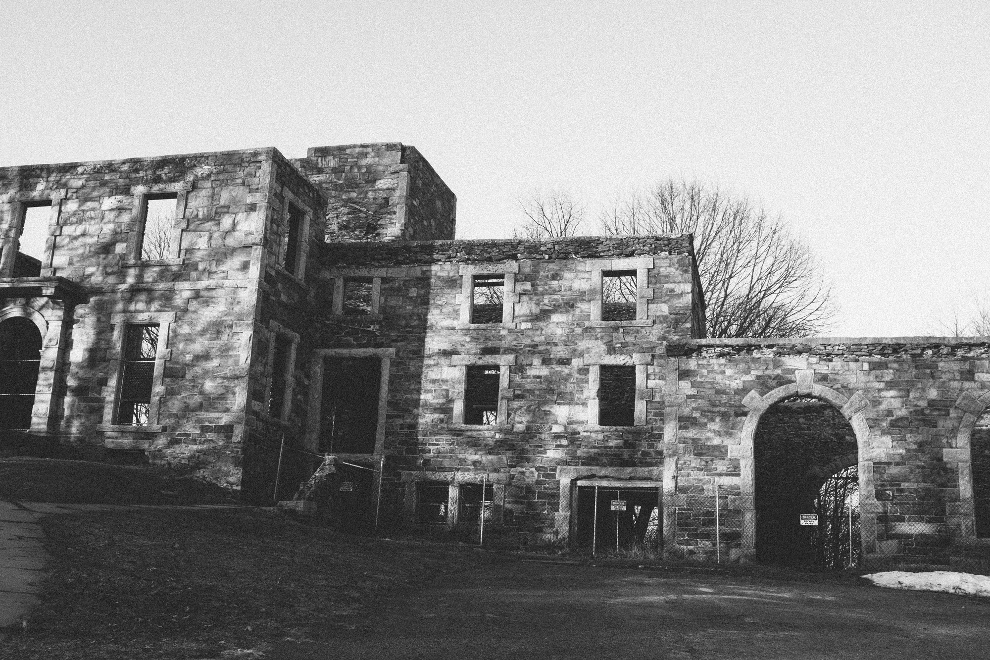 Goddard Mansion, part of Fort Williams Park.