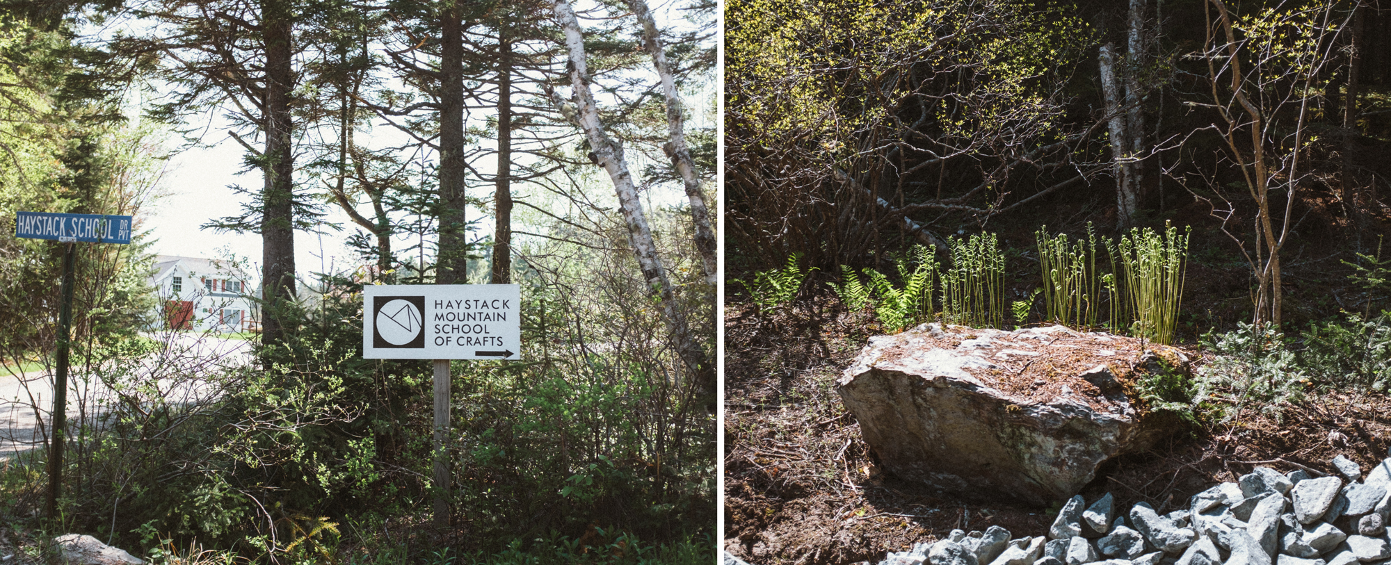 We went to check out Haystack Mountain School of Crafts in Deer Isle, ME.